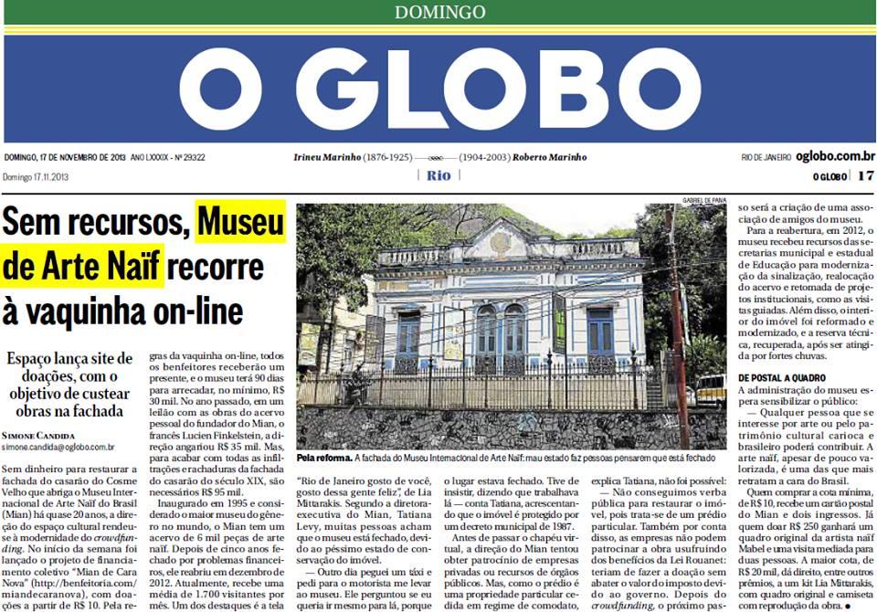 MIAN - O Globo/Rio