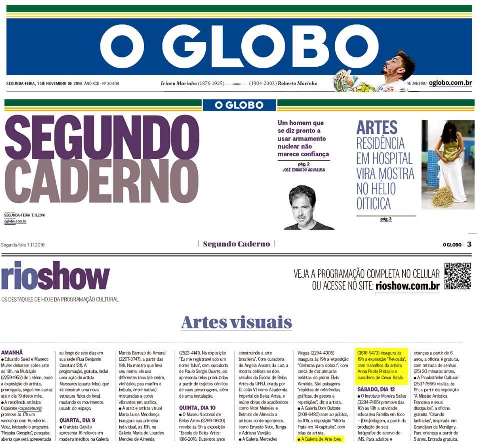 Galeria de Arte IBEU - O Globo