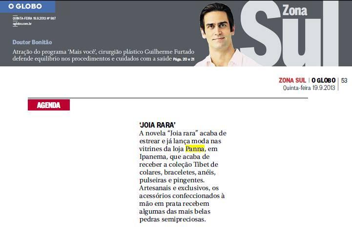 Panna - O Globo Zona Sul
