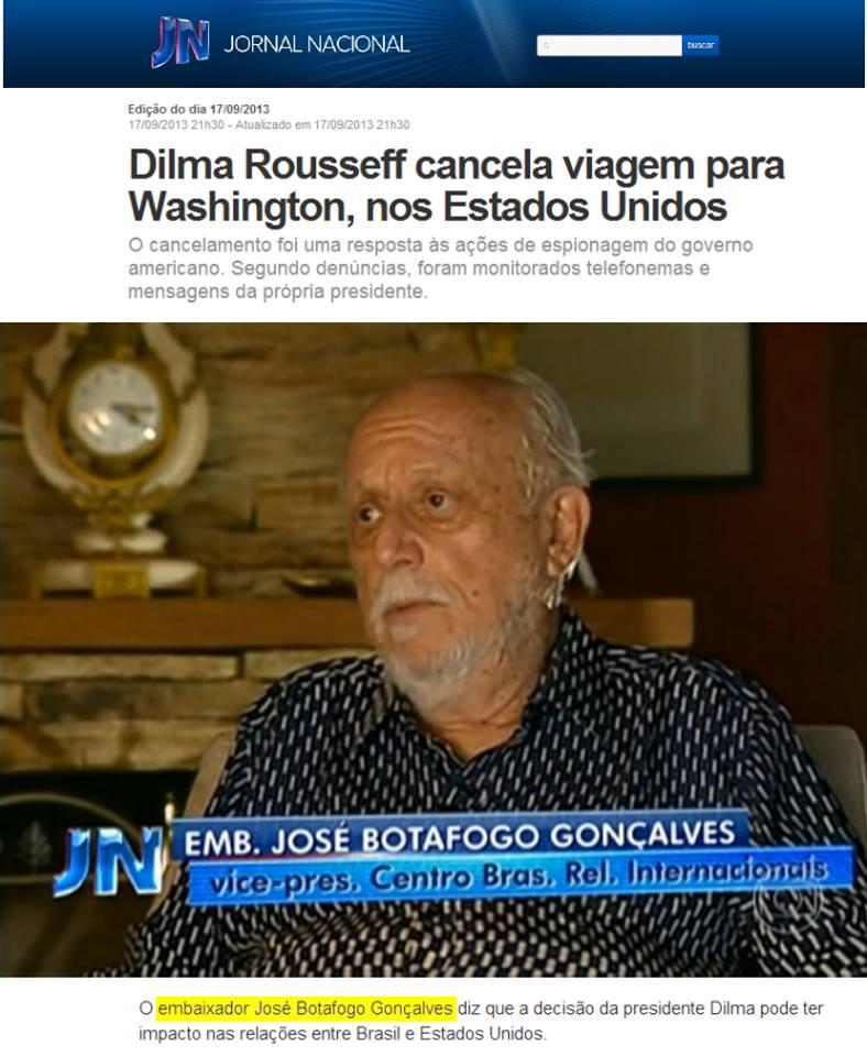 CEBRI - Jornal Nacional