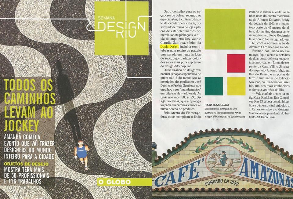 Dupla Design - O Globo