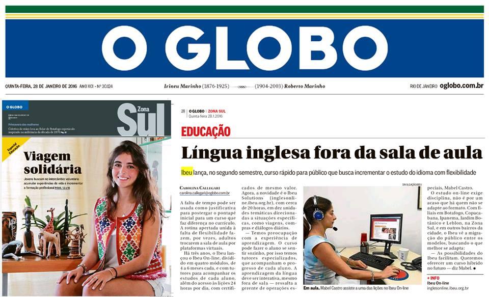 IBEU - O Globo/Zona Sul