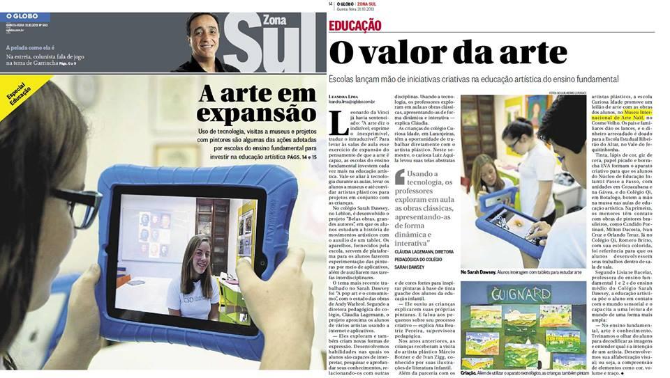 MIAN - O Globo/Zona Sul
