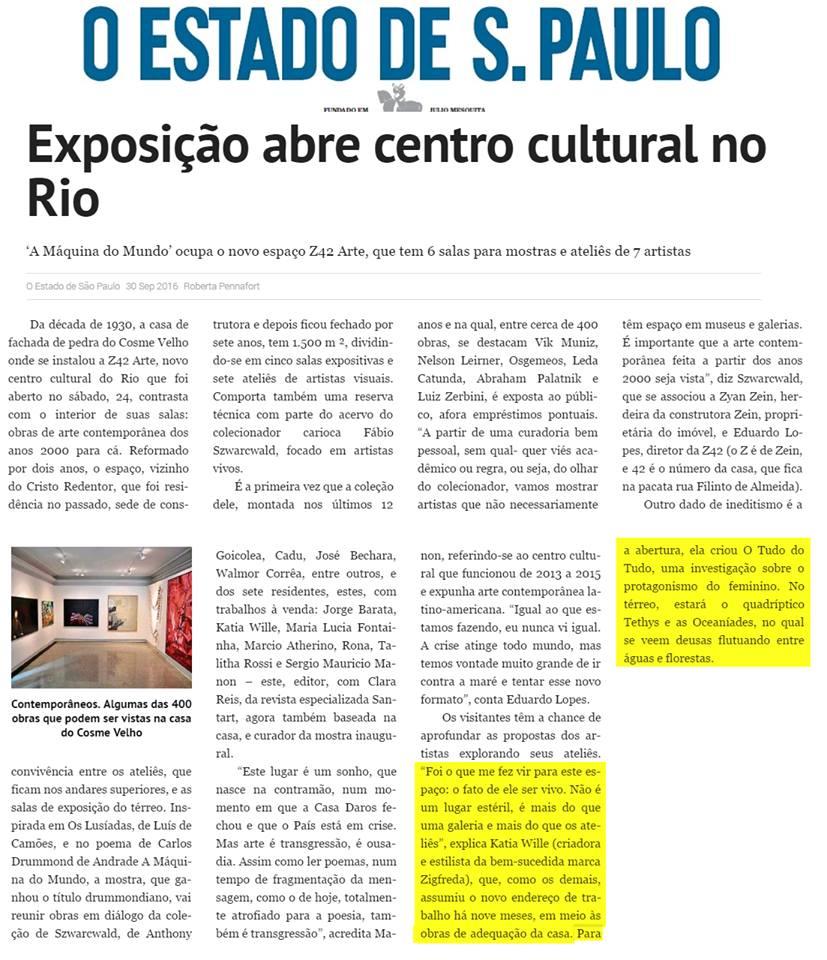 Katia Wille - O Estado de S. Paulo