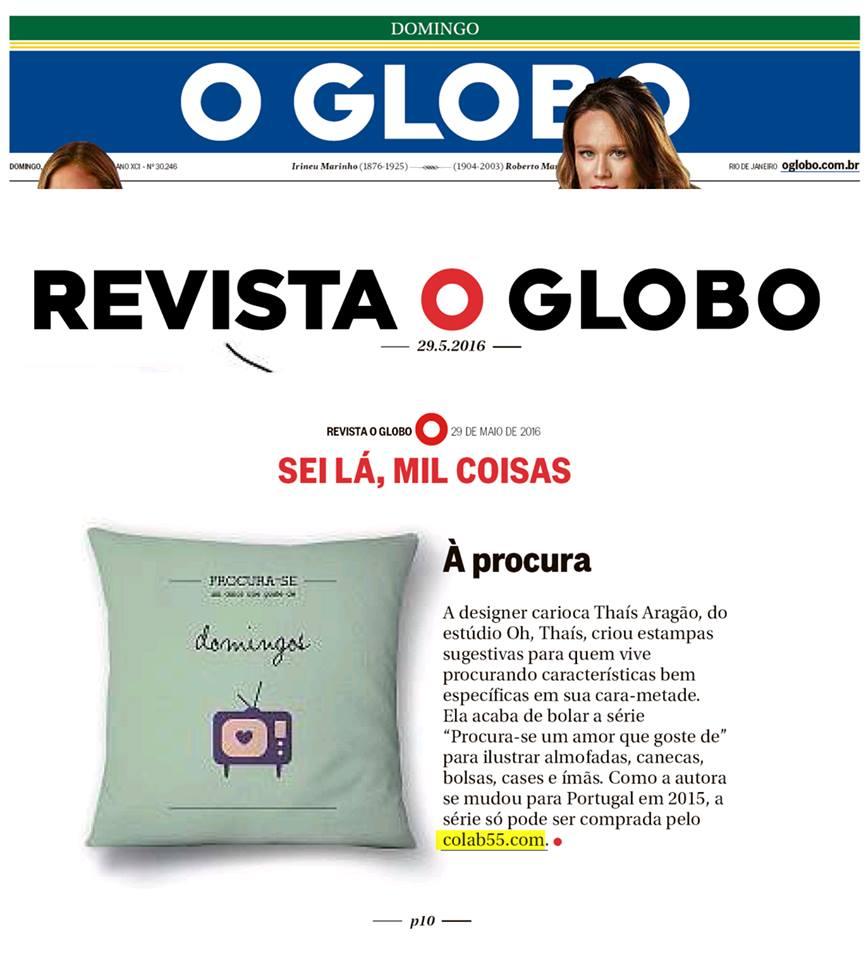 COLAB55 - Revista O Globo