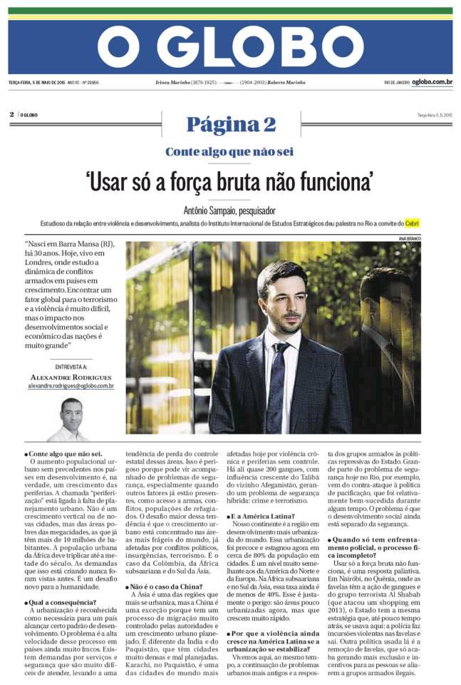 CEBRI - O Globo/Página 2