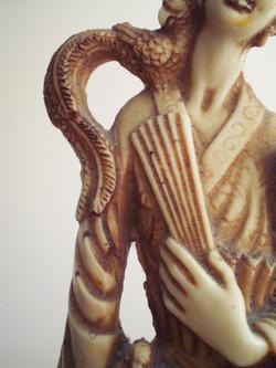 oriental woman detail