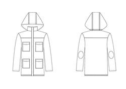 Technical Flat - Jacket