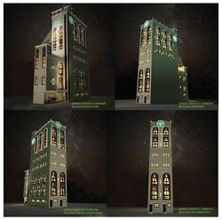 Building Night View