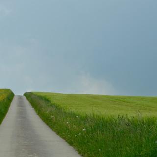 Le chemin paradisiaque. Photo prise par Natascha