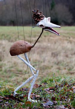 ein Vogel aus der Unterwelt