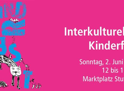 Interkulturelles Kinderfest auf dem Stuttgarter Marktplatz