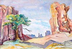 Monument Valley Study