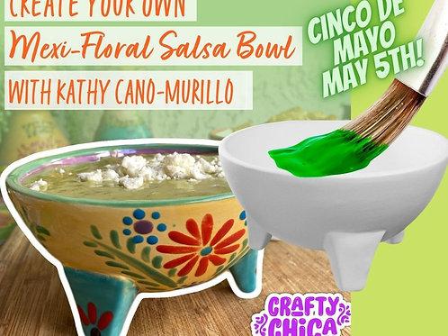 Mexi-Floral Bowl Project