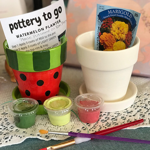Small Planter Paint at Home Project Kits