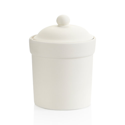 Small Canister  4.75D x 6.5H