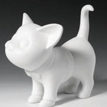 Standing Cat Bank    5 H x 8.5 L