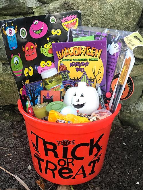 Trick or Treat Bucket of Fun 1 pc