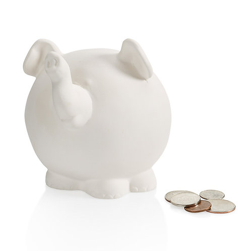 Pudgy Elephant  Bank