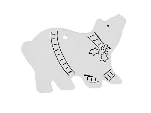 Polar Bear with Lines