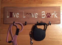 Make your own Leash Holder