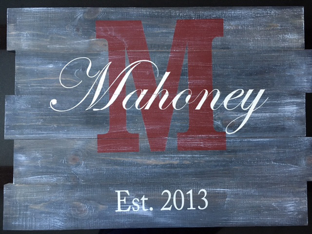 Monogram Boards