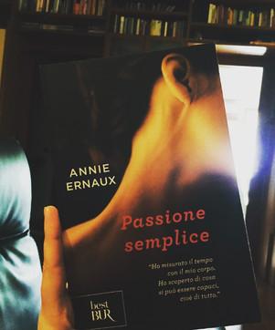 Passione Semplice - di Annie Ernaux