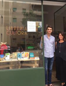 Nasce a Milano la Libreria Cultora di Francesco Giubilei e Laura Busnelli
