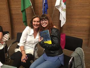 Incontrando Clara Sanchez!!!