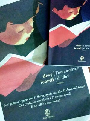 Sulle tracce de L'annusatrice di libri - di Desy Icardi