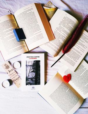 """Vivere """"la nausea"""". Lettera d'amore a Sartre - di Giusy Laganà"""