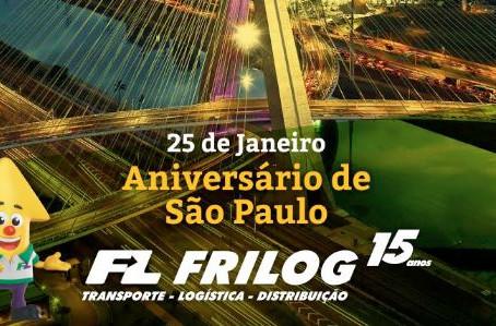 25 dia da Cidade de São Paulo