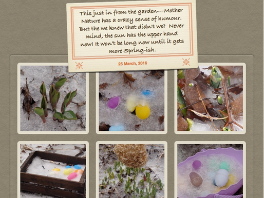 Easter Arrives Ahead of Spring March 26, 2016