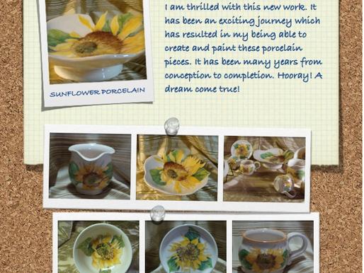 Sunflower Porcelain! February 2, 2014