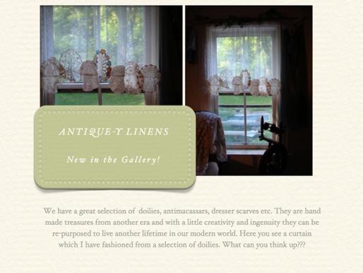 Antique-y Linens! June 10, 2014