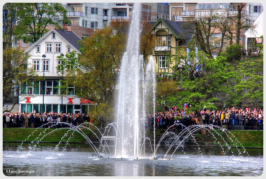 Breiavatnet Fountain