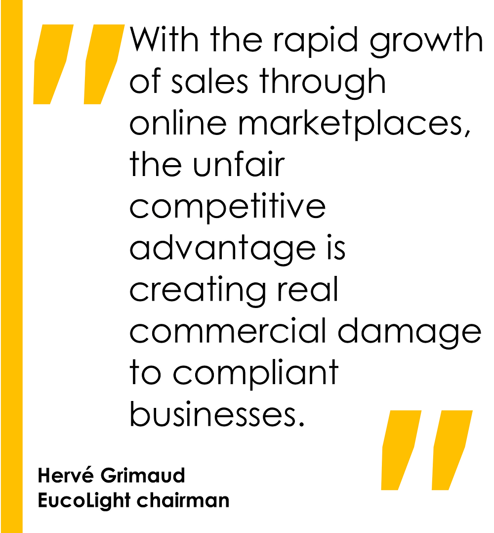 With the rapid growth of sales through online marketplaces, the unfair competitive advantage is creating real commercial damage to compliant businesses