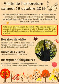 Visite d'automne 2019