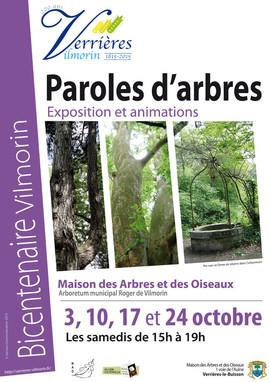 Exposition Paroles d'Arbres