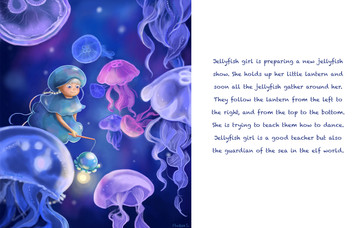 The Elf World- Jelly Fish Girl
