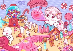 Amber's Candyland