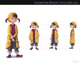 Characrer Design- Lila