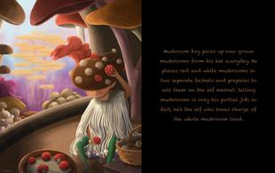 The Elf World- Mushroom Boy