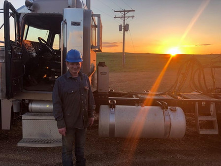 My oldest son Riley and a beautiful sunset.
