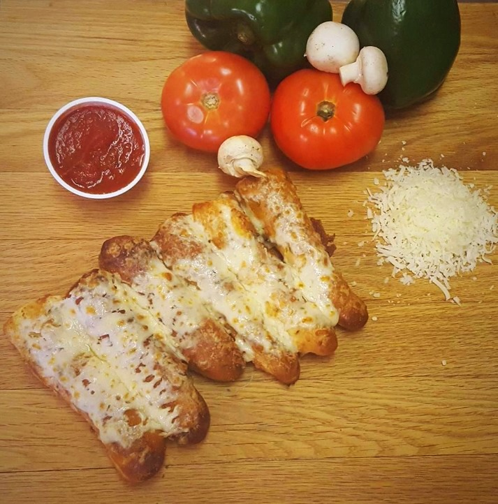 Garlic Breadsticks with Cheese