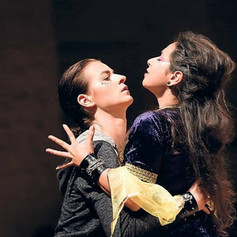 Alcina - Ruggiero (Alcina: Lisa Algozzini), Kammeroper Rheinsberg, Regie: Isabel Ostermann