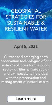 Geospatial Strategies for Sustainable & Resilient Water