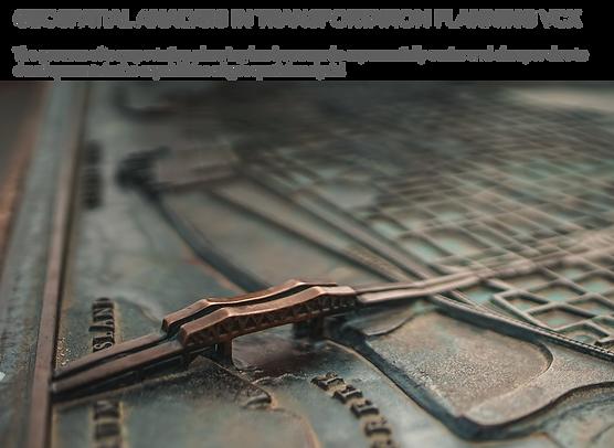 Geospatial Analysis in Transportation Pl