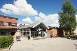 Haninge Centrum, Exteriör