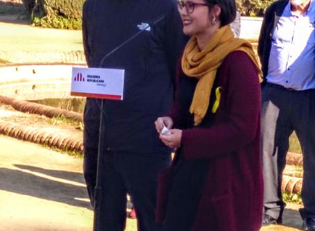 Jenn Díaz i Ruben Wagensberg s'incorporen a Catalunya Sí i concorren a la llista electoral d'Erc